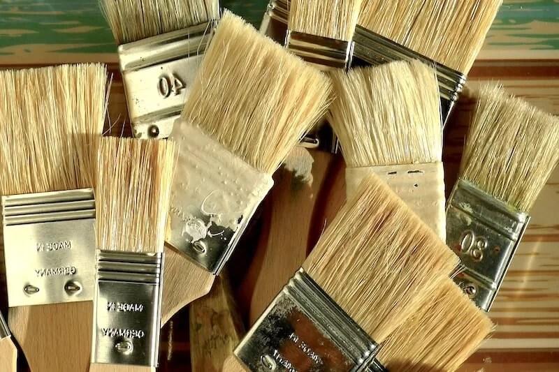 brochas para pintar sin dejar marcas