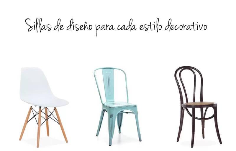 sillas de diseño para cada estilo decorativo