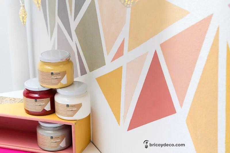 renovar con pintura utilizando tan solo 4 colores