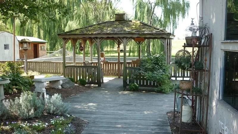 pérgola para jardín independiente