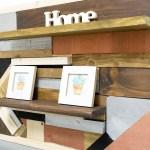 estantería con madera reciclada paso a paso