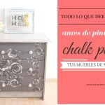 pintar con chalk paint muebles de madera