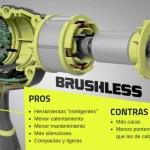 pros y contras de las herramientas brushless