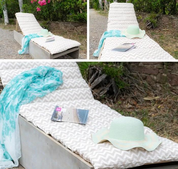 tumbona para terraza