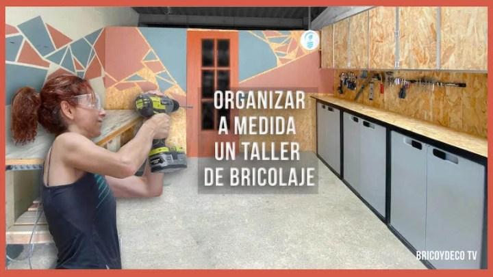 cómo organizar un taller de bricolaje