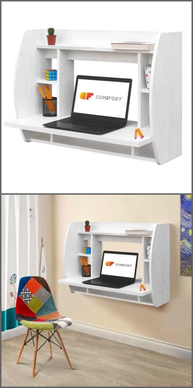 escritorio de pared abierto