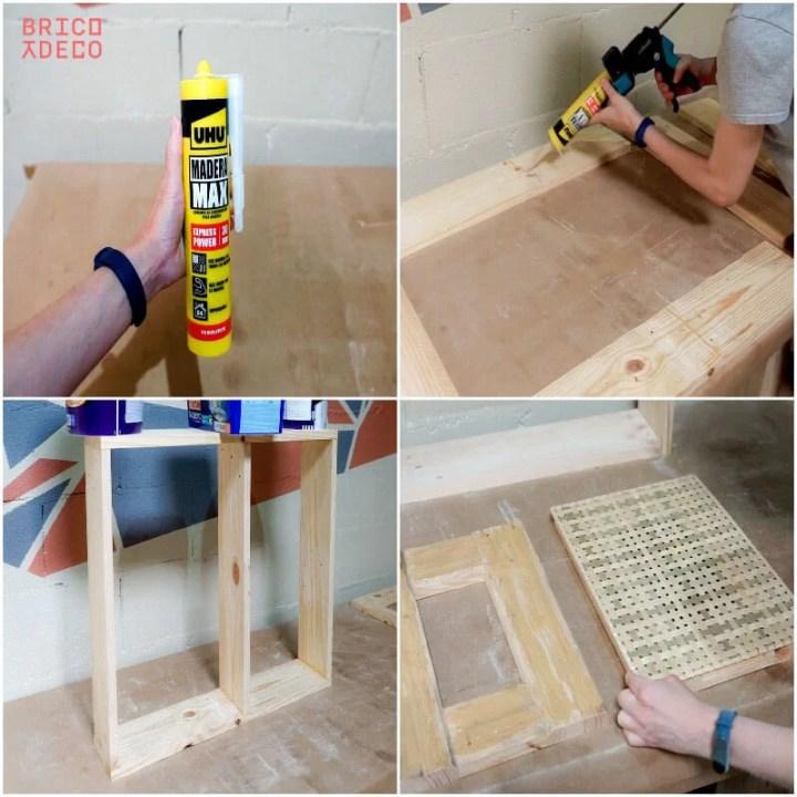 cómo montar un mueble sin tornillos