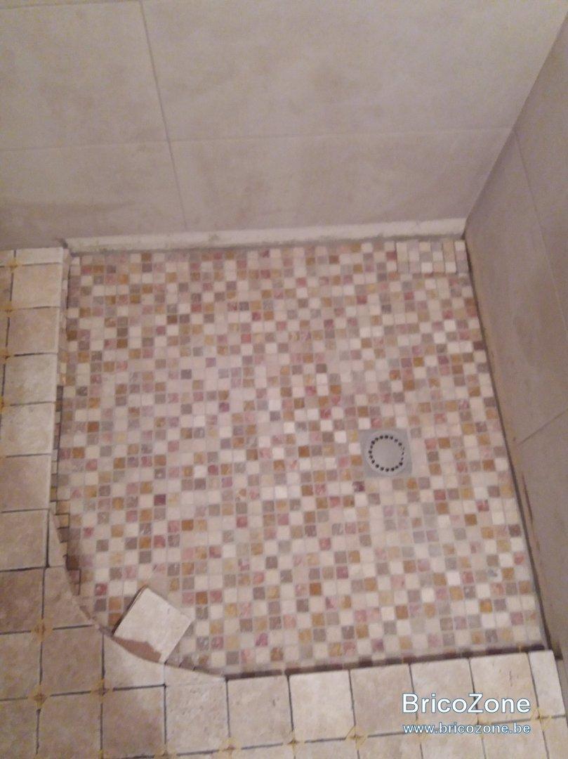carrelage salle de bain sans etancheite