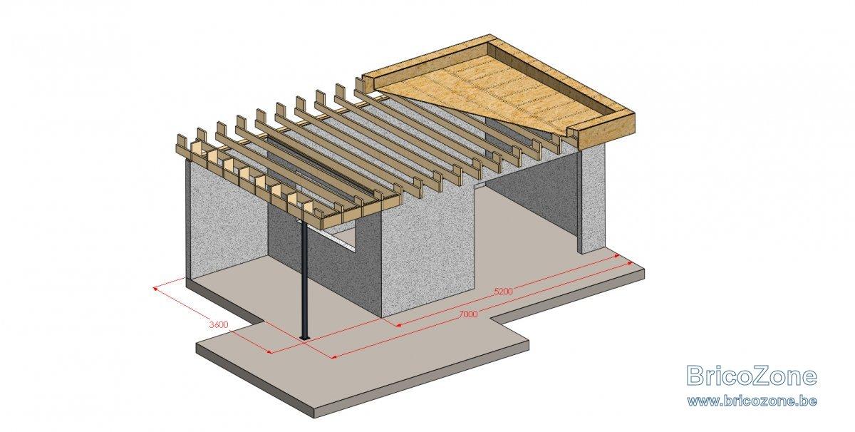 toiture plate d abris de jardin