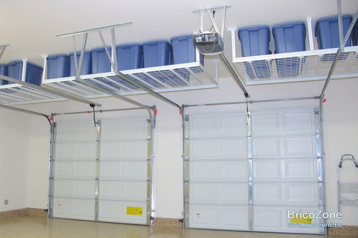 etagere suspendue garage