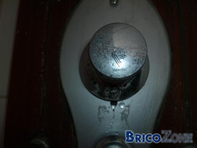 fuite robinet thermostatique colonne de