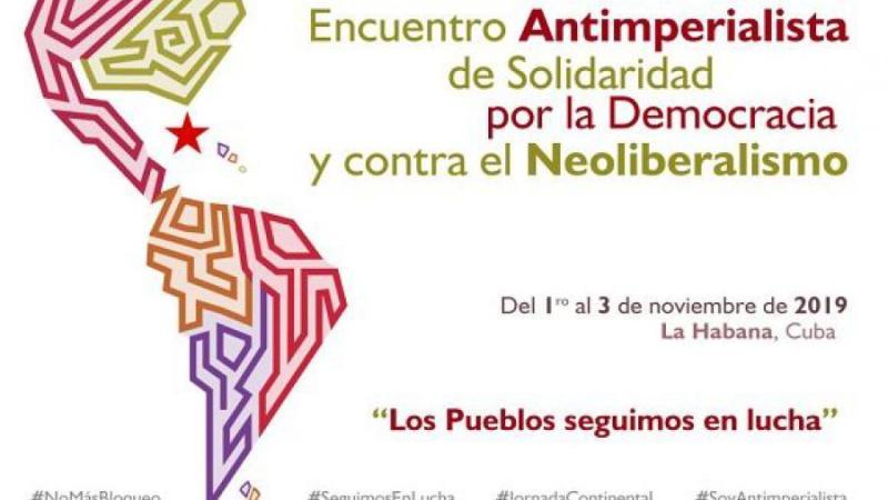 Venezuela participará en Encuentro Antiimperialista en Cuba