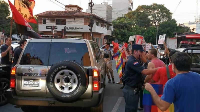 ¡Fuera Almagro de Paraguay!