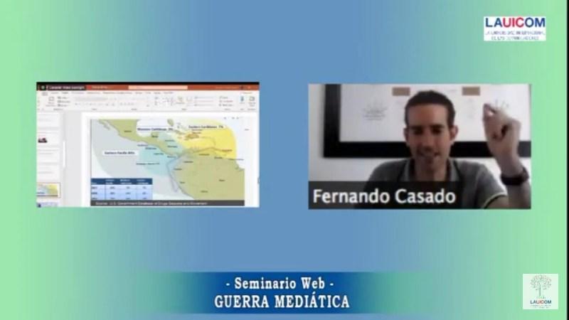 Fernando Casado: «Argumentar existencia del Cartel de los Soles es una burda manipulación»