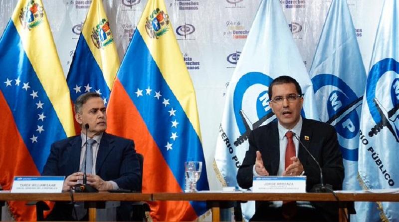 Venezuela desmonta «informe» sobre Derechos Huamanos y lo califica como propaganda de guerra