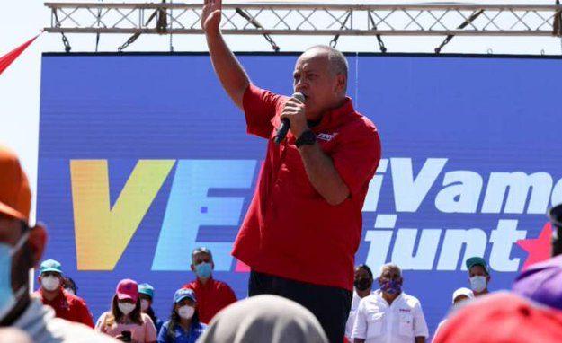Diosdado Cabello: «Tenemos que ganar las elecciones del 6D para garantizar la estabilidad y el futuro del país»