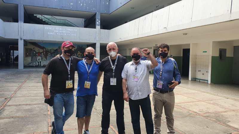 Entrevista a Aritz Reguero, observador en las elecciones parlamentarias de Venezuela