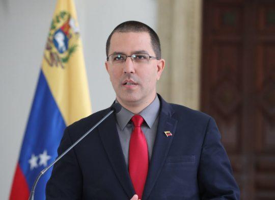 Jorge Arreaza: «Es un acto criminal el bloqueo que impide adquirir vacuna contra el Covid-19»