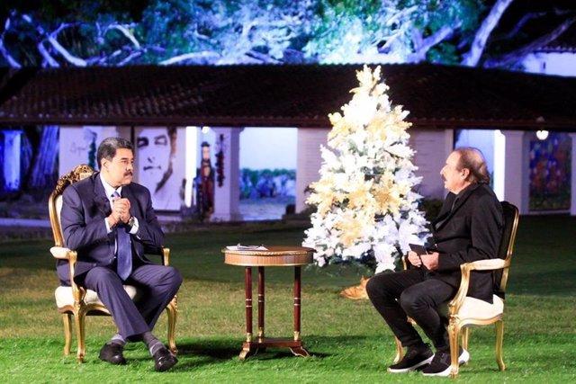 [VÍDEO] Nicolás Maduro entrevistado por Ignacio Ramonet