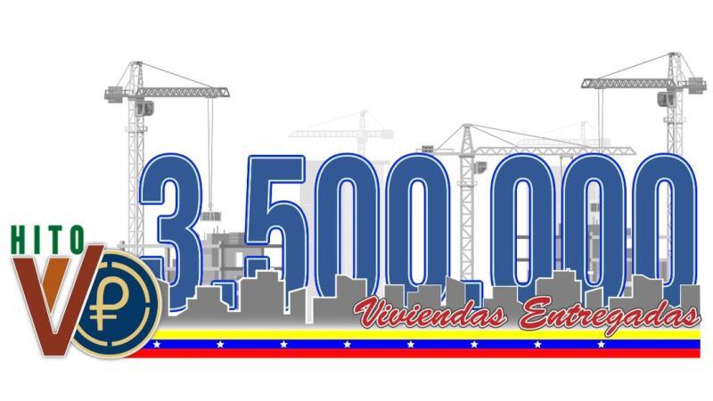 Alcanzada la cifra de 3.500.000 viviendas entregadas al pueblo