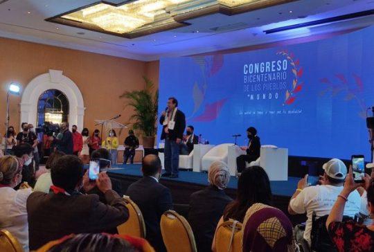 Instalado el Congreso Bicentenario de los Pueblos del Mundo