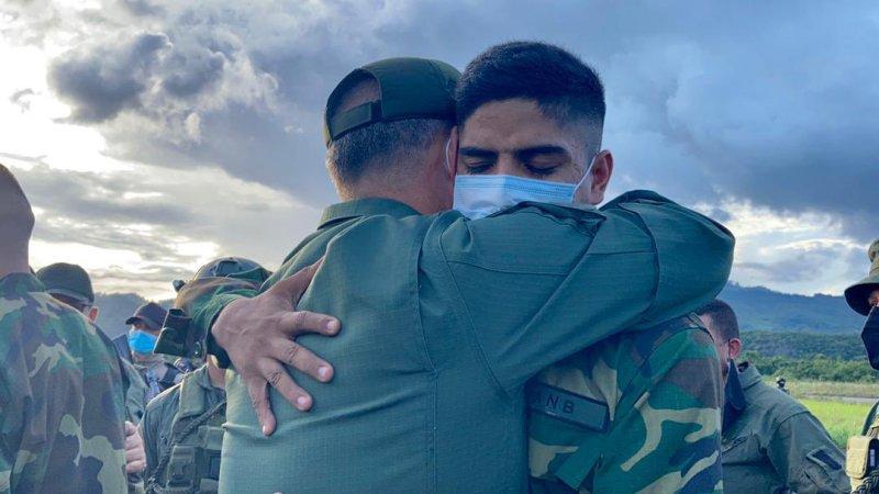 FANB rescata a los militares venezolanos secuestrados por grupos irregulares colombianos