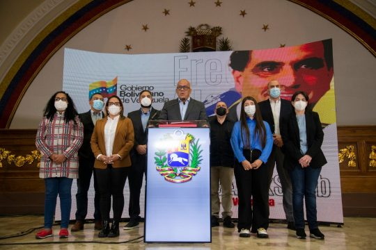 La Delegación del Gobierno venezolano suspende la mesa de negociación tras la ilegal extradición de Alex Saab a EE.UU.