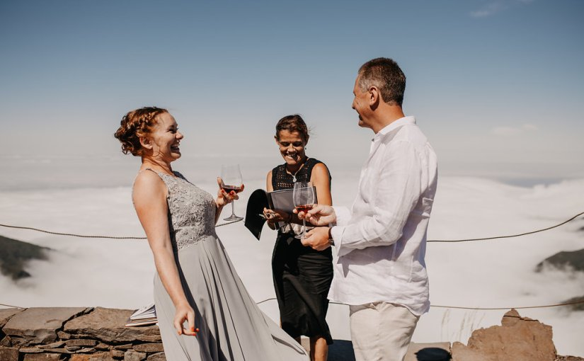Married on a mountain in Madeira