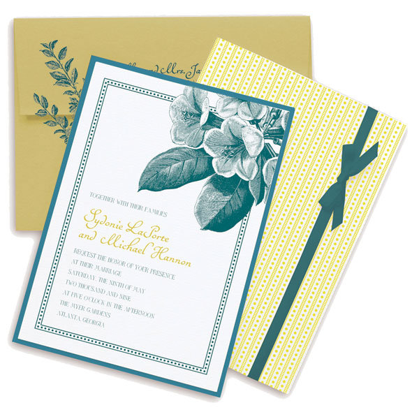 Birds Wedding Invitations In G And Caribbean Blue