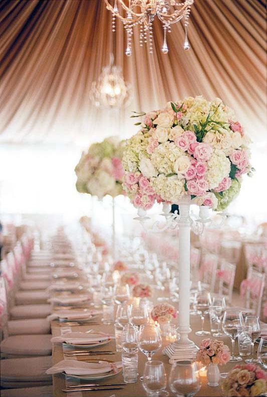 pretty wedding centerpieces