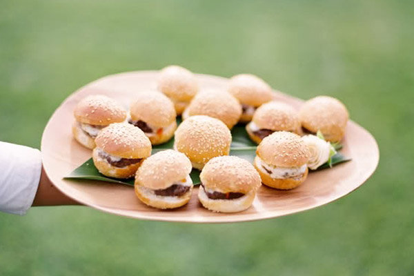 platter of sliders