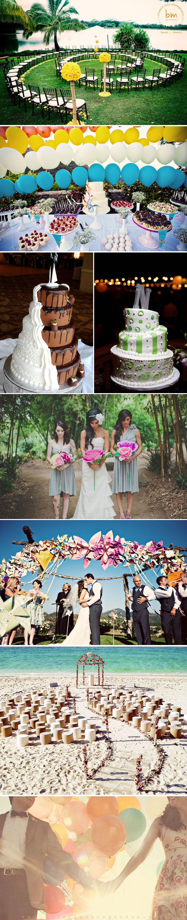 whimsical wedding style