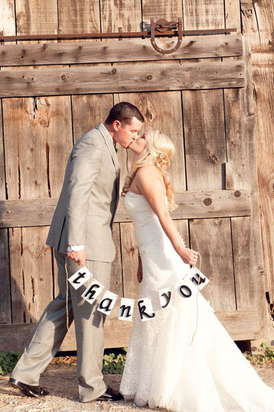 20 Fun Ideas For Wedding Thank You Notes Step By Step For Wording