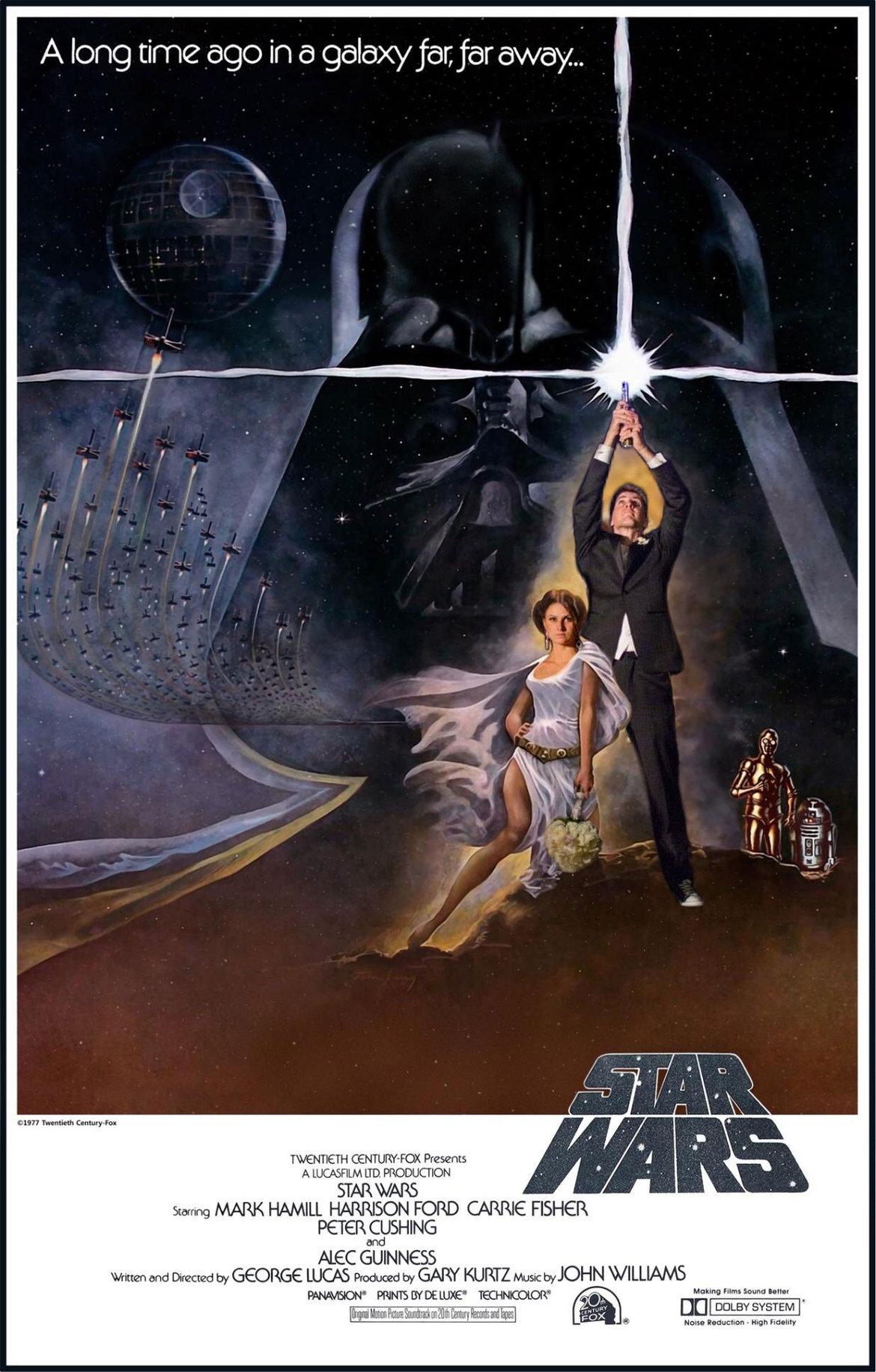 An Epic Star Wars Themed Wedding BridalGuide