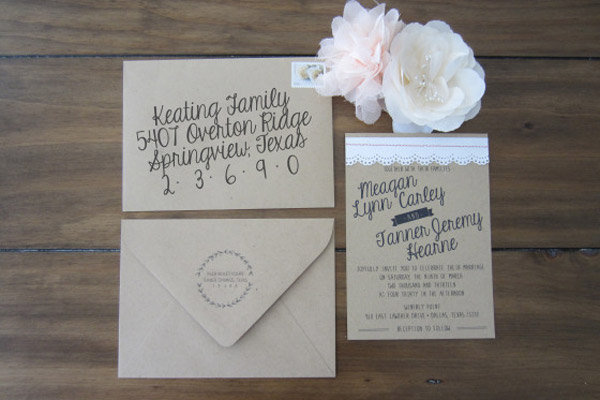Beautiful Wedding Invitations You Can