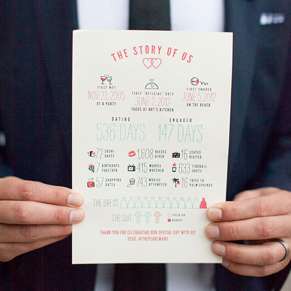 50 Ways to Share Your Love Story at Your Wedding | BridalGuide