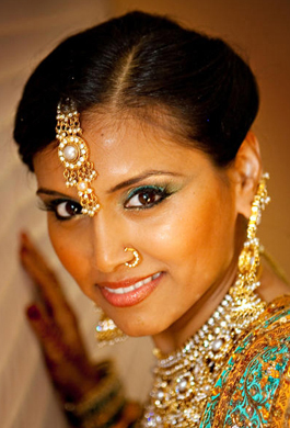 Bridal Makeup by Aradia - Real Bride 03 - Bride Vidya