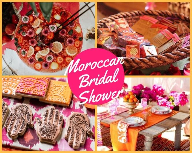 Moroccan Bridal Shower Ideas