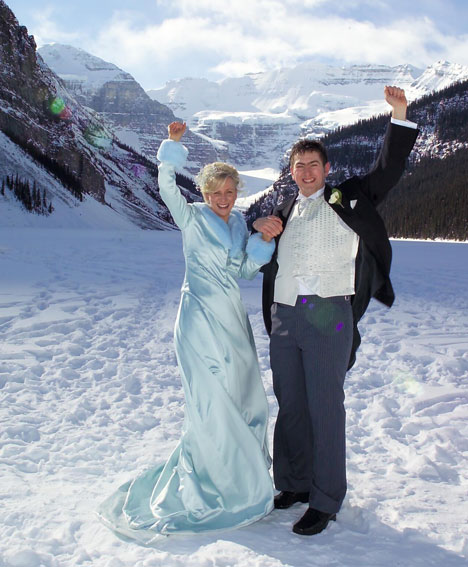 Fabulous winter weddings