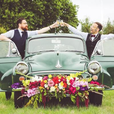 We Love: Vintage and Fabulous Mobile Bar from Gin and Bear It