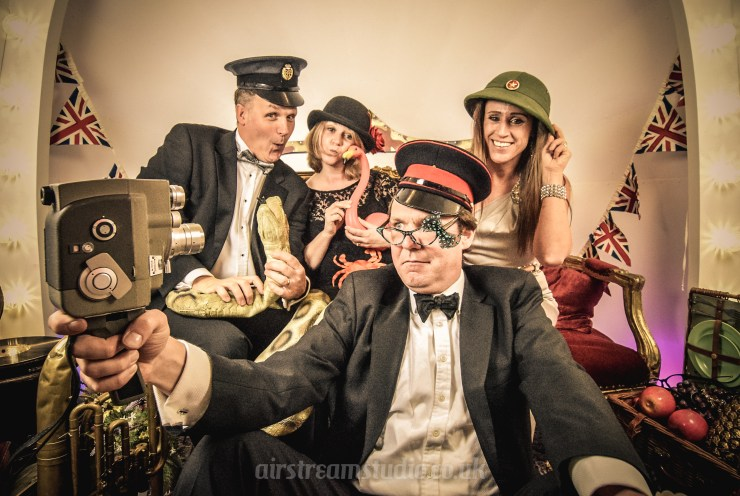 We Love: Quirky, Vintage Photo Booth from Airstream Studio   British wedding blog - Bride and Tonic