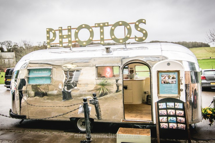 We Love: Quirky, Vintage Photo Booth from Airstream Studio | British wedding blog - Bride and Tonic