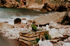 Wild + Rustic Ocean Styled Spanish Shoot | British wedding blog - Bride and Tonic
