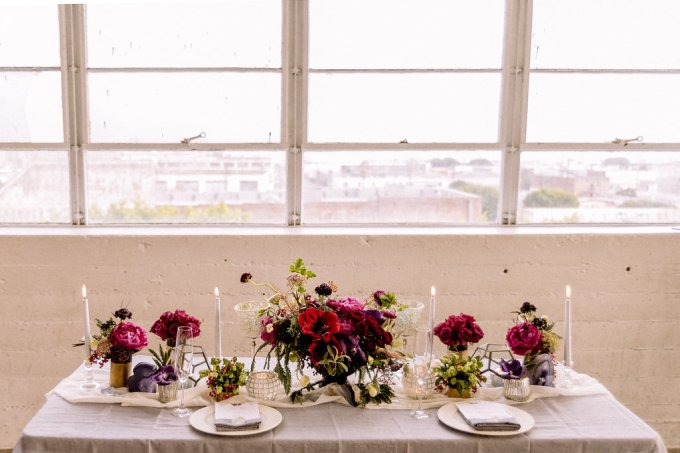 A Raw and Urban Colourful City Wedding // Styled Shoot | British wedding blog - Bride and Tonic