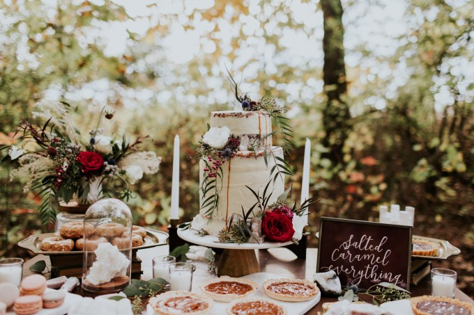Styled Shoot || A Rustic, Natural, Luxe Fall Inspired Shoot | British wedding blog - Bride and Tonic