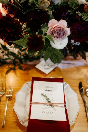 A Beautiful Christmas Tree Farm Wedding In The Pacific Northwest