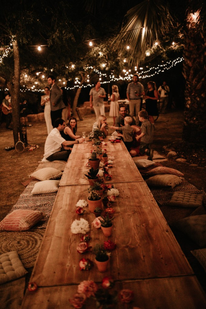 A Laid Back and Rustic Outdoor Sustainable Wedding // Heike + Christian