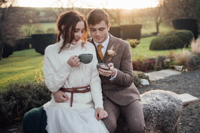 Styled Shoot || A Cosy Fireside Elopement | British wedding blog - Bride and Tonic
