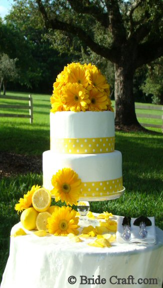 Fresh Flower Cake Top