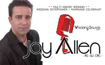 Jay Allen – Marriage Celebrant + Wedding Entertainer